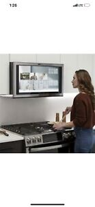 GE Cafe Kitchen Hub with WiFi Connect BLACK STAINLESS UVH13012MBS NEW IN BOX
