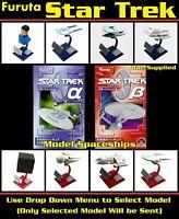 Furuta Star Trek Pre-Painted Model Spaceships - Sealed - With Box (Select Item)