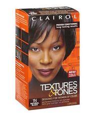 Clairol Textures - Tones Permanent Hair Color 1N Natural Black, 1 ea