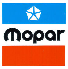 "Mopar 3"" square sticker / decal Dodge Chrysler Plymouth Jeep Imperial DD0098"