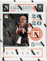 2020 ENCASED Panini NFL Football HOBBY BOX #55 RANDOM 1-TEAM BREAK Burrow AUTO?