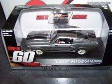 GREENLIGHT HOLLYWOOD GONE IN 60 SECONDS 1967 FORD MUSTANG ELEANOR 1:43