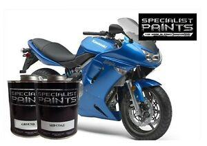 QUART OF kawasaki - Candy Plasma Blue , MOTORCYCLE, AUTOMOTIVE, HOTROD,