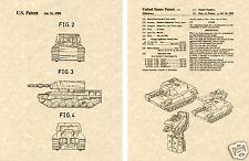 Transformers BRAWL US Patent Art Print READY TO FRAME!! Autobot Battle Tank 1A5