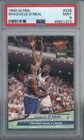 1992-93 Fleer Ultra Shaquille O'Neal Rookie #328 Orlando Magic PSA 9