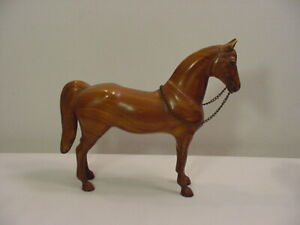 Vintage Breyer Woodgrain Western Pony