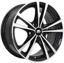 17x7 MST Saber 5x115 +45 Glossy Black w/Machined Face Wheels (Set of 4)