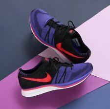 Nike Flyknit Trainer Persian Violet Siren Red Purple Men Running Shoe