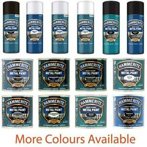 Hammerite Direct To Rust Quick Drying Metal Paint All Colour Available