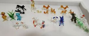 Vintage Glass Small  Animals, collectable, Murano and other, variations, vgc