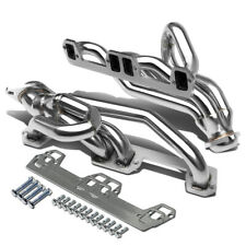 FOR DODGE RAM/DURANGO/DAKOTA 5.2/5.9 V8 STAINLESS EXHAUST CHROME HEADER+GASKET