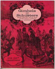 Vintage 1967 Gimbles / Schusters Christmas Catalog  mid century modern