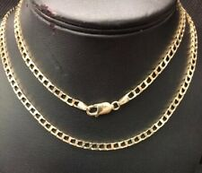 """9ct Square Link Curb Chain. 241/2"""""""