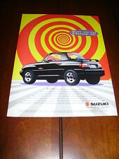 1995 SUZUKI X-90   ***ORIGINAL AD***