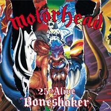 Motorhead 25 & Alive Boneshaker CD & DVD Region 0 PAL NEW