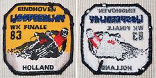 Aufnäher Patch Eindhoven Ijsspeedway WK Finale 83 Holland Eisspeedway Mottorrad