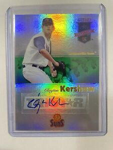Clayton Kershaw 2008 Tristar Projections Silver Auto Rookie Mint Dodgers