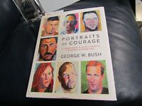 George W Bush Signed Autographed Portraits of Courage Book JSA Cert