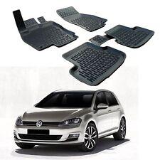 SCOUTT 3D TAPPETI TAPPETINI AUTO IN GOMMA SU MISURA per VW Golf 7 dal  2012
