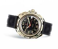 Vostok Komandirskie 2414/219123 Watch 17 Jewels Mechanical Mens Soviet Watch