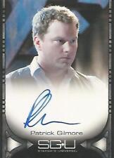 "Stargate Universe Season 1 SGU: Patrick Gilmore ""Dale Volker"" Autograph Card"