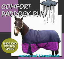 "COMFORT 5'9"" WATERPROOF WINTER  PADDOCK HORSE RUG"