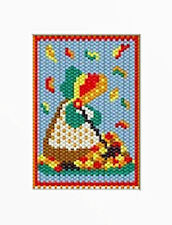 Autumn Sunbonnet~Beaded Banner Pdf Pattern Only