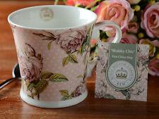 Royal Jardines Botánicos, Kew Shabby Chic Rosa Porcelana Fina Jarra Taza