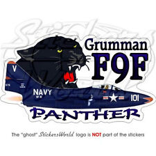 "Grumman F9F PANTHER US NAVY USA 5,5""Vinyl Sticker-Decal"