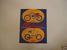 advertising Pubblicità 1973 MALAGUTI CAVALCONE/TOTEM