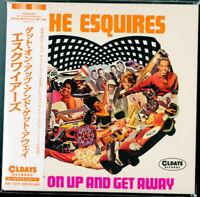 ESQUIRES-GET ON UP AND GET AWAY-JAPAN MINI LP CD BONUS TRACK C94
