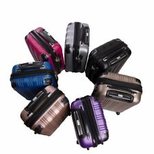 Wisdom Spinner Carry On Hard Case Lightweight 100% Polycarbonate with TSA Lock