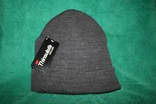THINSULATE 3M  Charcoal Gray Knit Hat, NEW WITH TAGS FREE SHIPPING in the USA