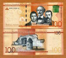 Dominican Republic, 100 Pesos Dominicanos, 2017 (2018), P-New UNC > New Security
