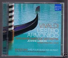 VIVALDI CD+ DVD L'ESTRO ARMONICO / TAFELMUSIK BAROQUE ORCHESTRA/ JEANNE LAMON