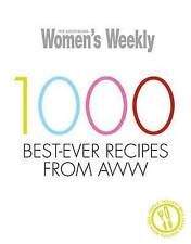 LK NEW Australian Women's Weekly 1000 Best-Ever Recipes from AWW Hardcover