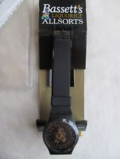 Rare BASSETT'S LIQUORICE ALLSORTS Vintage Collectable Watch ANALOGUE Working