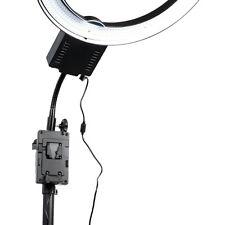 NanguangCn-V12V-LockB attery Clamp-On Power Adaptor forCn-R640 Led Ring Light