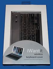 IWantit iakbcgry 15 INALÁMBRICO/Teclado Bluetooth para iPad Air 1/2/3 - PVP = 39.99 EUR