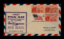 9/8/1959 First Pan Am Intercontinental Jet Clipper Los Angeles to Tokyo Japan