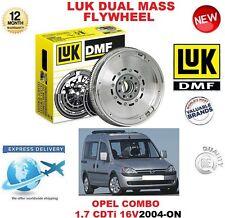 Pour Opel Combo 1.7 CDTI 16 V 2004-ON LUK DMF Dual Mass Flywheel Tour MPV Estate