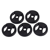 5 Pieces Turntable Record Adapter for 45RPM Phonograph DIY Parts Replacement