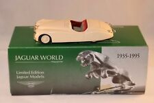 Diamond Jubilee series JW.8 Jaguar XK 120 1949 Cream hand built perfect mint