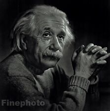 1948 Vintage ALBERT EINSTEIN Science Physics Portrait Photo ~ YOUSUF KARSH 16x20