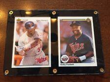 1990-92 Upper Deck Kirby Puckett Baseball Cards,Mn Twins ,2 Pack Case Lot!