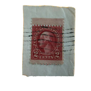 1922-1929 George Washington Two Cent USPS Stamp  Red Very Rare!!!!