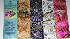 2018 5 Sample Packets DESIGNER SKIN TREASURED PROSPER FASCINATE SALACIOUS STATUS
