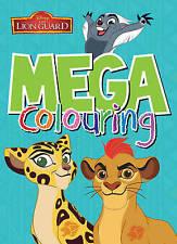 Disney Junior The Lion Guard Mega Colouring by Parragon Books Ltd (Paperback)