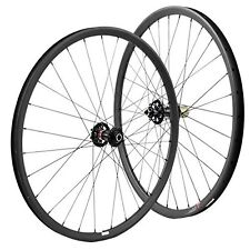29er Carbon wheelset 27mm wide mountain bike wheels with Novatec 711-712 hub