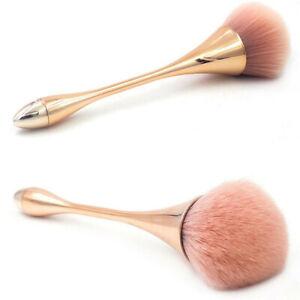Single Powder Foundation Makeup Brush Rose Gold Soft Blush Brush Face Cont Tool